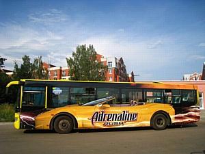Интерес рекламодателя к рекламе на транспорте уверенно растет