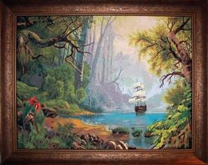 Картины шишкина вышивка крестом
