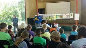 Энергетики напомнили детям о правилах электробезопасности