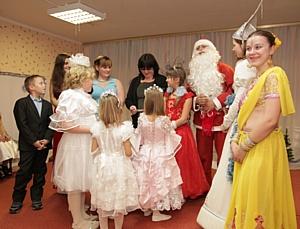 «Новогодняя сказка» в гостях у Боярской школы-интерната