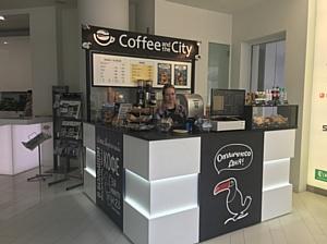 Новое летнее открытие кофейни Coffee and the City в БЦ Дежнев Плаза