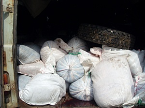 На границе с Украиной задержано 3,5 тонны мяса