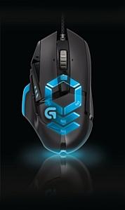 Logitech выпускает сверхточную проводную игровую мышь G502