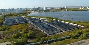 Технология обезвоживания в Геотубах®, TenCate Geosynthetics: крупнейший проект в России.