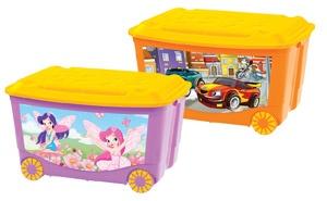 Детский бренд «Пластишка» обновил сюжеты на ящиках для игрушек