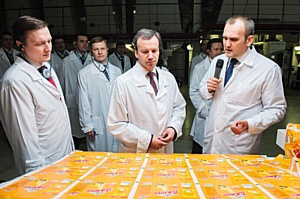 Аркадий Дворкович оценил инновационный потенциал «Данафлекс»