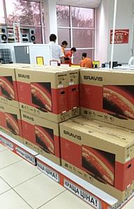 Торговая марка Bravis -  в тройке лидеров по продажам телевизоров