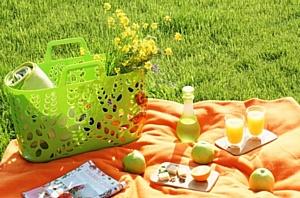 Встречаем лето ярко с новыми корзинами от компании «Бытпласт»!