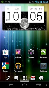 aShell Launcher - ����� �������� ����� ��� Android c ������������� ��������