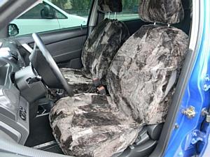 Меховые накидки на сиденья - лучшая защита для Вас и Вашего автомобиля