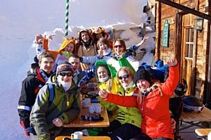 Молодежный фестиваль в Альпах! Италия!