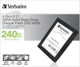 Verbatim SATA-III Solid State Drive устанавливает новую планку производительности