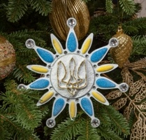 Компания «Karl Kid» создала авторскую «Украинскую елку».