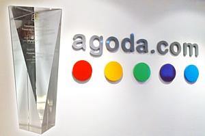 Agoda.com признана «Лучшим туристическим сайтом» на награждении TravelMole