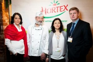 Пресс-обед с Hortex: вкусно, полезно, интересно!