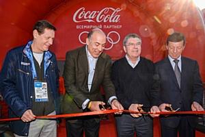 Coca-Cola Парк «В движении!» ждет гостей Олимпийских игр в Сочи