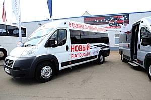 Новая линейка  пассажирских микроавтобусов на базе базе Fiat Ducato