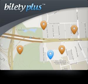Поиск отеля на карте — новая возможность от BiletyPlus.ru