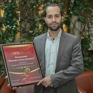 Корпоративный сайт ГК Kaskad Family награжден премией «Золотое перо»