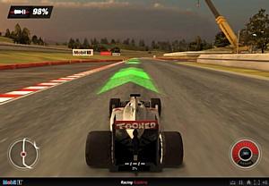 Научись управлять гоночным автомобилем под руководством пилота Гран-при Дженсона Баттона и Mobil 1