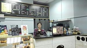 На первом этаже БЦ Смольная 24 открылась новая кофейня Coffee and the City