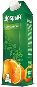 Сок «Добрый» стал первым в России напитком в новом формате упаковки Тетра Пак