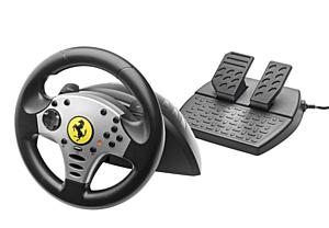 Ferrari Challenge Racing Wheel от Thrustmaster!