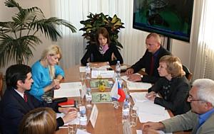 Визит делегации из Чили в ФГБУ «Ленинградская МВЛ»