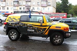 Всероссийский автопробег «За безопасный труд» - в Казани