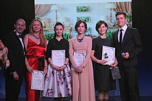 В Москве состоялось награждение лауреатов Национальной Свадебной Премии «Wedding Fairy Tale 2015»