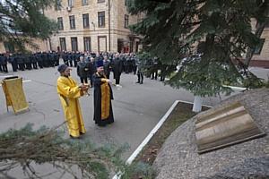 Состоялась торжественная церемония открытия закладного камня будущей Аллеи великих людей России