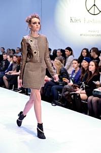 Лера Лещева представила коллекцию осень-зима 2014-15  на Kiev Fashion Days