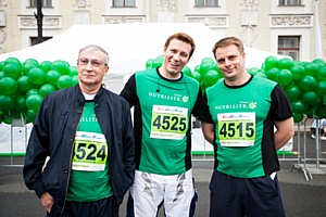 Петербуржцы приняли участие в  марафоне в поддержку детского спорта