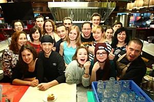 В The 21 состоялся открытый мастер-класс по приготовлению согревающих блюд