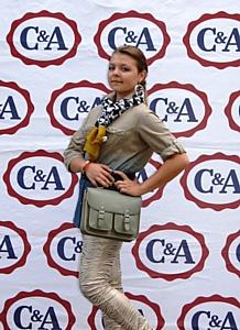 Бренд C&A выступил партнером II Международного конкурса юных дизайнеров