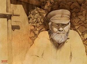 Новосибирский художник вошел в число победителей отборочного этапа «Portrait Now!»