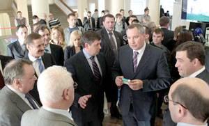 Новые светодиодные светильники «РАДЭУС®» показали вице-премьеру РФ Д. Рогозину