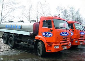 Ведущий пензенский переработчик молока полностью обновил транспортный парк