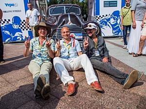 В Москве прошла уникальная гонка ретро-автомобилей Bosch Moskau Klassik 2013