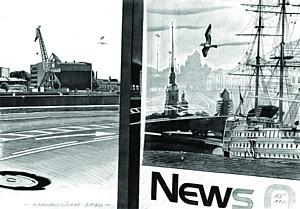 В Барнауле проходит выставка графики известного художника Николая Зайкова «Piter»