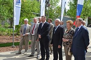 Первые лица КРК приняли участие в открытии центра профподготовки строителей атомной отрасли