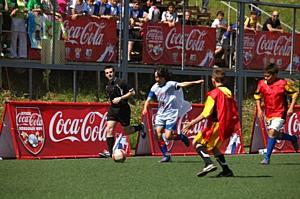 Детский турнир по футболу «Кожаный мяч - Кубок Кока-Кола» пройдет в 30 городах России