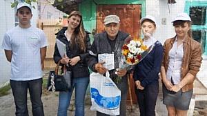 ООО «Пищевые Ингредиенты» поздравило ветеранов ВОВ с Днем победы