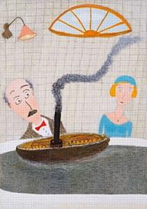 Выставка Александра  Петровича Войцеховского в галерее «Арка» – «Утро праздничного дня»