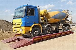 Один метр решает большую проблему - автомобильные весы длиной 7 метров