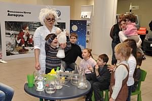 «Фольксваген Центр Авторусь» и «Фольксваген Центр Подольск» поздравили самых маленьких