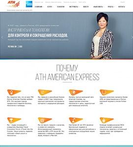 Агентство Anima Interactivе разработало сайт с уникальными инструментами для компании ATH