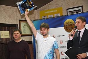 В Красноярске выбрали лучшего бармена на Baltika Barmen's Cup