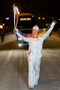 Руководитель Брянскэнерго принял участие в эстафете Олимпийского огня