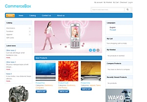 �������� Internetdevels ����������� ������ ��������-�������� CommerceBox